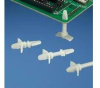 Circuit Board Support Nylon Snap-in Locking Winged Male - Snap-in Locking Male -- 07498355452-1