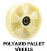 KS Series Polyamide Pallet Wheels -- ks-8-bb-20