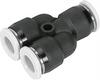 QBMY-5/32T-U Push-in Y-connector -- 572300 -Image