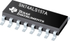 SN74ALS157A Quadruple 1-of-2 Data Selectors/Multiplexers -- SN74ALS157AD -Image