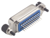 Female IEEE-488 Connector, Straight PC Terminals -- MGPB00002 - Image