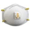 3M - 8511 Dust Respirator with Valve -- OCS8511