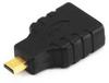 Micro HDMI(M) to HDMI(F) Adapter, 6Inch -- 14C367