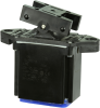 TP Series Rocker Switch, 2 pole, 2 position, IWTS (14-16 Gage) terminal, Above Panel Mounting -- 102TP81-8 -Image
