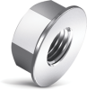 Spinner-Grip™ Flange Lock Nut -- 19820 - Image