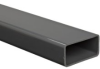 PVC NSF-61 Rectangular Tubing, Gray