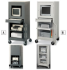 ATLANTIC METAL Economical Mobile Computer Cabinets -- 4837602 - Image