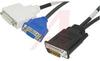 Cable Assy; DMS-59 to DVI-I; 59; EMI/RFI -- 70190573 - Image