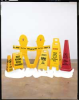 Floor Stand Sign,Danger Chemical Spill -- 9WCF9