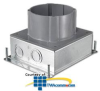 Hubbell SystemOne Round, Multi-Service Floor Box - Stamped.. -- S1SFB