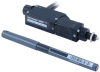 Linear Actuator, 25 mm travel, RS232 plus manual control -- T-NA08A25-KT01