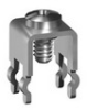 M3 Snap In PC Mount -Supplied w/Screw-Assembled -- 7696 - Image