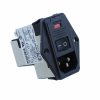 Power Entry Connectors - Inlets, Outlets, Modules -- 1-6609929-4-ND - Image