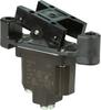 TP Series Rocker Switch, 1 pole, 2 position, Screw terminal, Flush Panel Mounting -- 1TP8-2 - Image