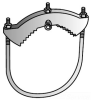 Conduit To Rod Clamp -- G-1000G - Image