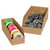 """4"""" x 18"""" x 4 1/2"""" Kraft - Open Top Bin Boxes -- BINBWZ418K -- View Larger Image"""