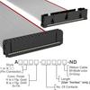 Rectangular Cable Assemblies -- A3AKB-3418G-ND -Image