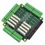 Termination Board - 8 In, 8 Out, and 8 Relays -- ISM-TRM-COMBO -Image