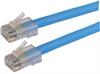 Category 6 LSZH Patch Cable, RJ45 / RJ45, Blue, 2.0 ft -- T6A00009-2F -Image