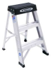 WERNER 2' Aluminum step stool. Type IA, 300 lbs. load -- Model# 150B
