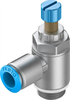 GRLA-1/2-QS-12-RS-D One-way flow control valve -- 534344