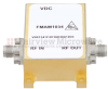 4.5 dB NF Low Phase Noise Amplifier Operating From 1.5 GHz to 5 GHz with 14 dB Gain, 17 dBm P1dB and SMA -- FMAM1034 -Image