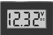 Positive LCD Display Meter via Hoyt Electrical Instrument Works
