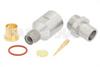 SMA Male Precision Connector Clamp/Solder Attachment for PE-P300LL -- PE44808 -Image