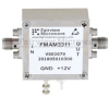 5 dB NF, 0.1 MHz to 10 GHz, Low Noise Broadband Amplifier with 13 dBm, 32.5 dB Gain, 26 dBm IP3 and SMA -- FMAM3311 -Image