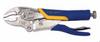 Vise Grip Soft Grip Curved Jaw Locking Plier, Wire Cutter -- 9V5WRSG