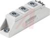 Dual Thyristor module, Tcase 85 C=55 amps, 1200 Vs, Case SemiPACK 1 -- 70098465 - Image