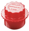 P Series (Plastic Threaded Plugs for Pipe Fittings) -- P-48