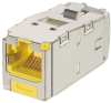 Safety & Security : Physical Network Security : Keyed Copper Connectivity : Keyed Jack Modules : Category 6 -- CJSK688TGYL