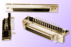 1.27mm Female SCSI Header, Right-Angle -- Series = CMDR - Image