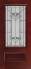 Architectural Fiberglass Glass Panel Exterior Door Series - Image