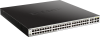 48-Port Gigabit Smart Managed PoE Switch with 4 Gigabit RJ45/SFP COMBO ports, 370W PoE Budget -- DGS-1210-52MP