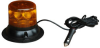 Single LED Strobing Beacon - Magnetic Mount w/ Cig Plug - (Avail in White, Blue, Red or Amber) -- LEDB-2-M