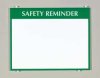 Safety Sign,8-1/2 x 11In,GRN/WHT,PLSTC -- 9JED6