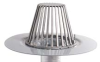 Aluminum Roof Drain Assembly for TPO Roofs -- Heavy-Duty TPO RetroDrain