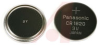 Battery; Coin Cell; Lithium, Pressure: 3V; 60mAh; Dia 16mm X 2.0mm -- 70197031 - Image