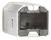 Right Angle USB Cable, Left Angle A Male/Down Angle B Male, 0.3m -- CA90LA-DB-03M -Image