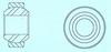 Light Section Spherical Bearings -- NBA-8-A