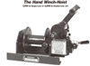 Worm Gear Hand Winch -- Model 1100