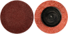 Merit AO Coarse Grit TR (Type III) Quick-Change Fiber Disc -- 69957399686 -Image