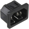 Power Entry Connectors - Inlets, Outlets, Modules -- 486-2189-ND -Image