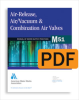M51 Air-Release, Air/Vacuum, and Combination Air Valves, First Edition (PDF) -- 30051-PDF