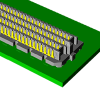 High Speed Board-to-Board SEARAY™ High Density Array Connectors -- SEAM Series - Image