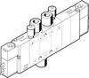 Air solenoid valve -- CPE10-M1BH-5/3BS-QS4-B - Image