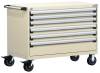 R Mobile Cabinet, with Partitions, 6 Drawers (60