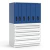 R2V Vertical Drawer Cabinet, 6 Drawers (48